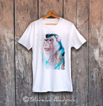 мъжка тениска макак
