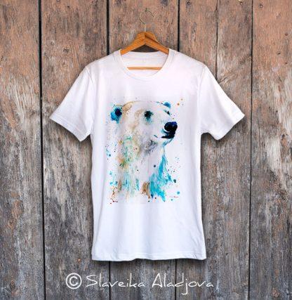 мъжка тениска полярна мечка 2