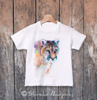детска тениска с пума