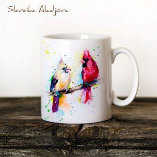 чаша кардинали