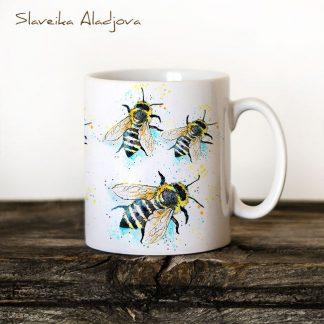 чаша с пчели
