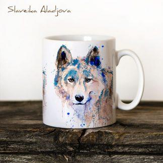 чаша сив вълк