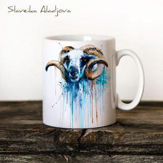 чаша овен