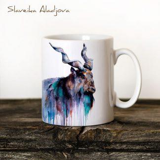 чаша кози рог