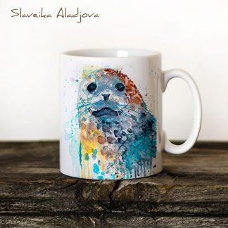 чаша петнист тюлен