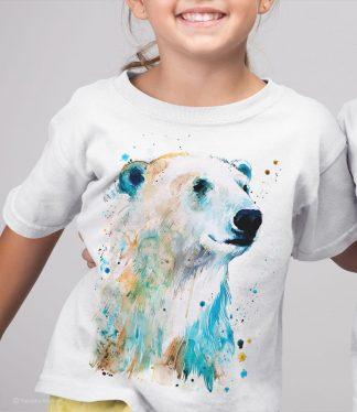 Тениска с полярна мечка