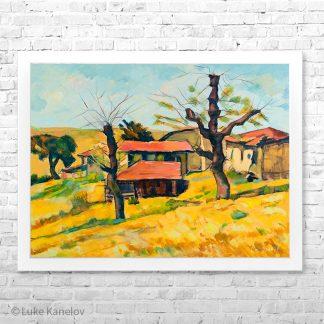 Картина пейзаж - Есен