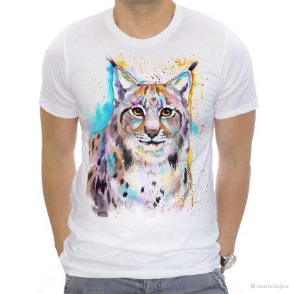 тениска с канадски рис