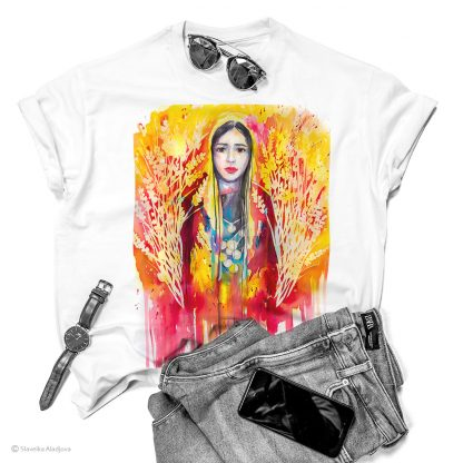 Унисекс тениска - Добруджанска мома