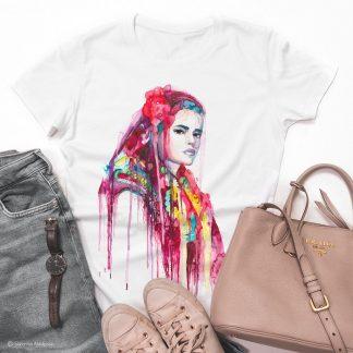 Унисекс тениска - Пиринска мома