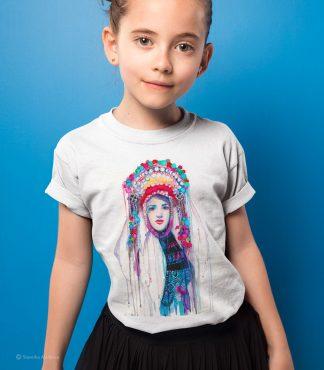 детска тениска с мома шопска