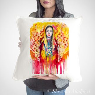 декоративна възглавница с мома добуджанска