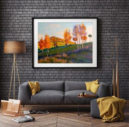 Картина пейзаж Брезите