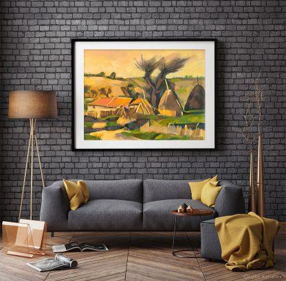 Картина пейзаж Дървото на спомените