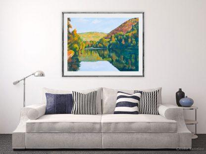 Картина пейзаж Отражение