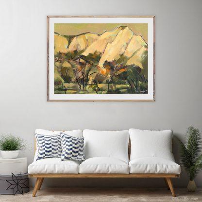 Картина пейзаж Светоусещане