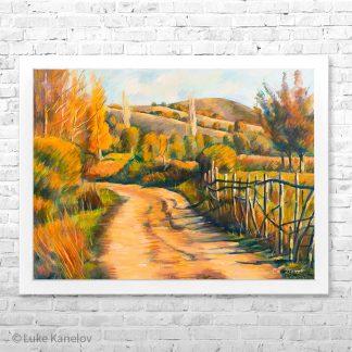 Картина пейзаж Пътя
