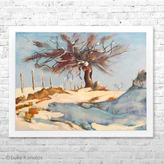 Картина пейзаж Вълшебното дърво