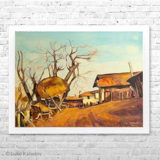 Картина пейзаж Купата