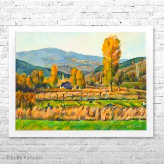 Картина пейзаж Есен