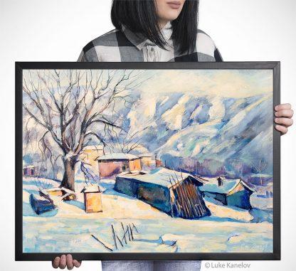 Картина пейзаж Старата черница