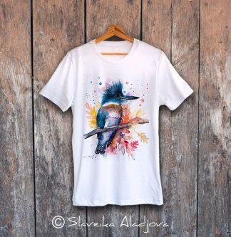 iмъжка тениска препасково земеродно рибарче