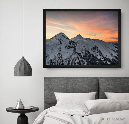 Залез над Вихрен и Кутело, Пирин - Пейзажна фотография
