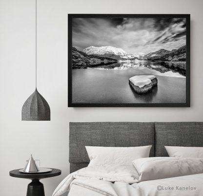 Зимен пейзаж от Муратово езеро, Пирин - Пейзажна фотография