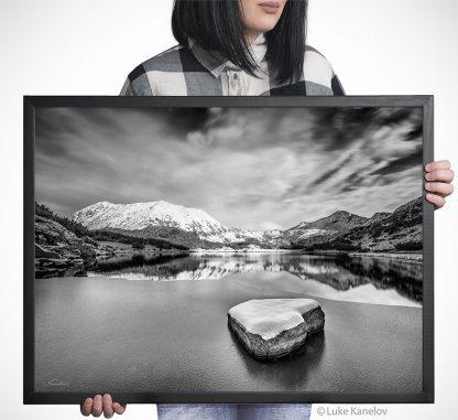 Зимен пейзаж от Муратово езеро - Пирин