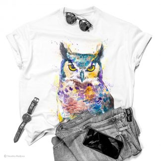 Тениска с бухал
