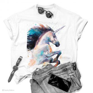 Тениска с еднорог