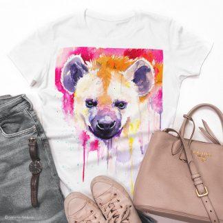 Тениска с хиена