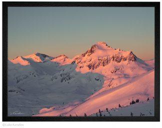 Зимен изгрев в Пирин, връх Джангал - Пейзажна фотография