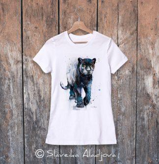 Дамска тениска - Черна пантера