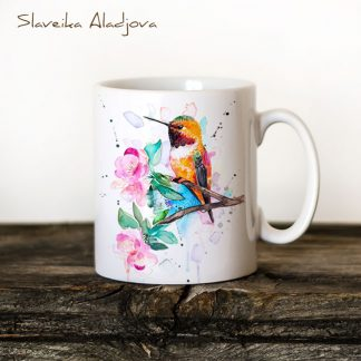 Чаша колибри Червеникаворъждиво