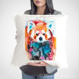 декоративна възглавница червена панда