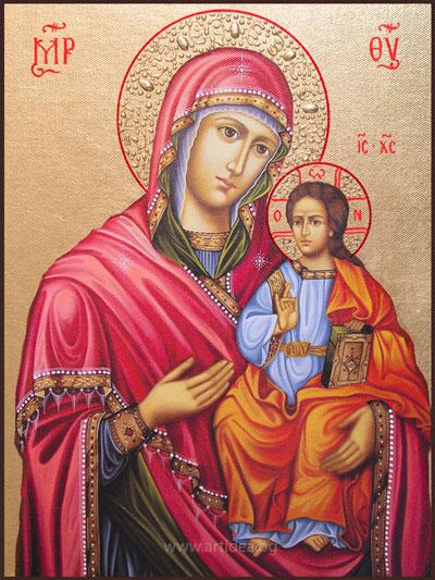 """Икона на Св. Богородица """"Пътеводителка"""""""