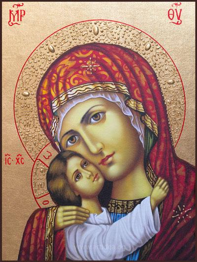 Икона на Св. Богородица Рилска