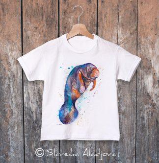 детска тениска морска крава 2