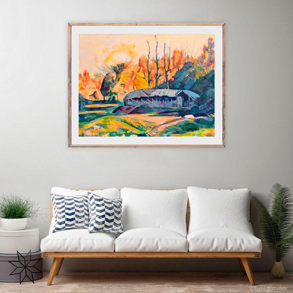 Картина живопис - Стойко Донев