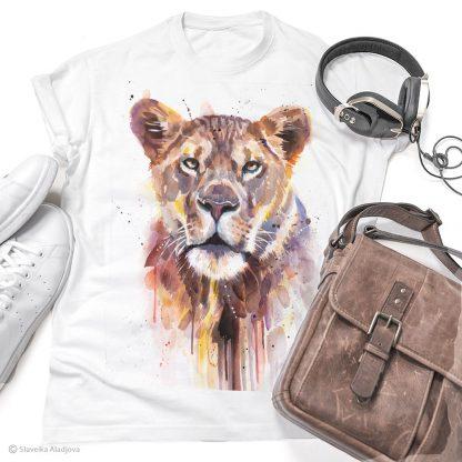 Тениска с лъвица