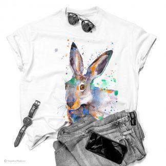 тениска със заек