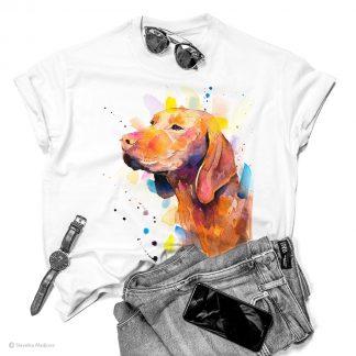 тениска с визла