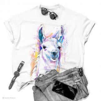 тениска с лама