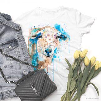 тениска с овца