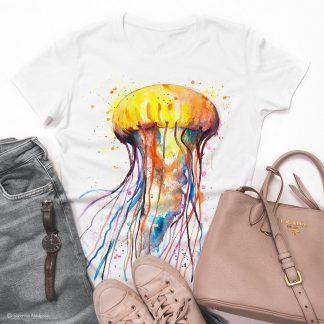 тениска с медуза