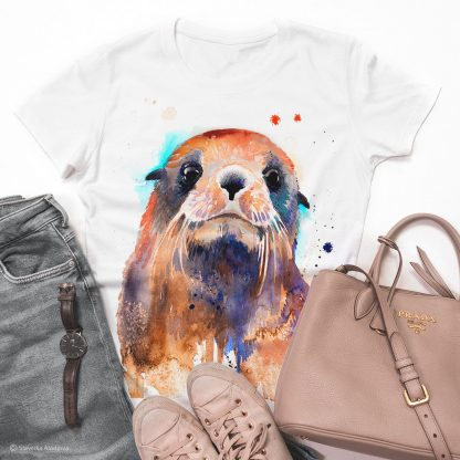 Тениска с тюлен