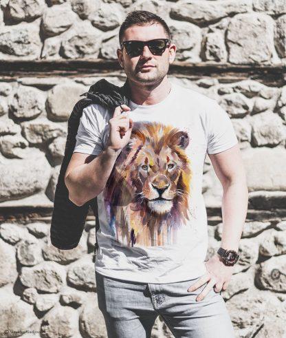 Тениски с щампи тениска с лъв