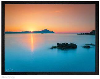 Морски пейзаж изгрев, морска фотография