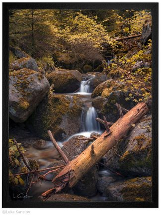 горски поток пейзажна фотография